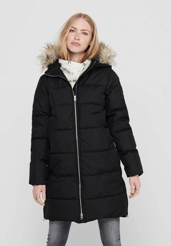 женская куртка jacqueline de yong, черная