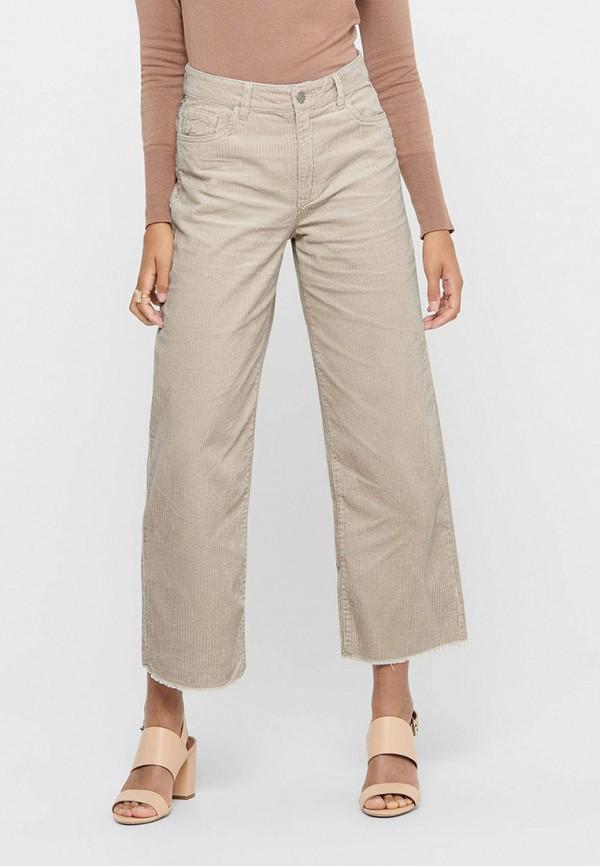 женские повседневные брюки jacqueline de yong, бежевые