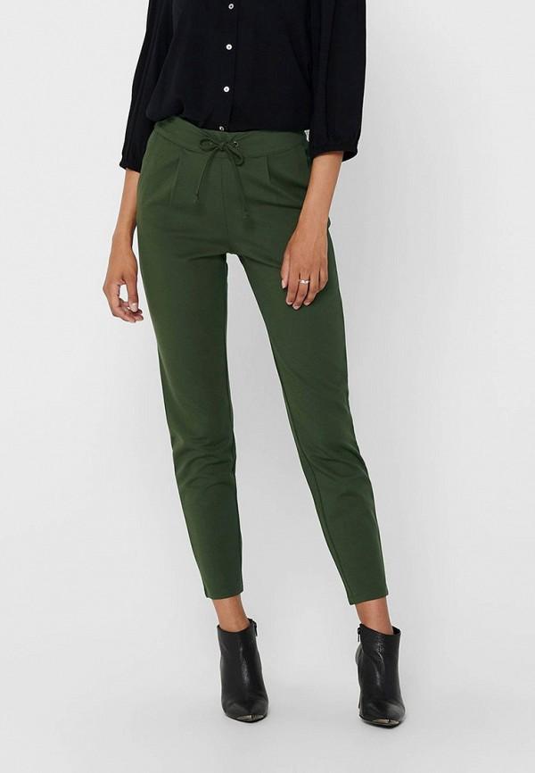 женские повседневные брюки jacqueline de yong, зеленые