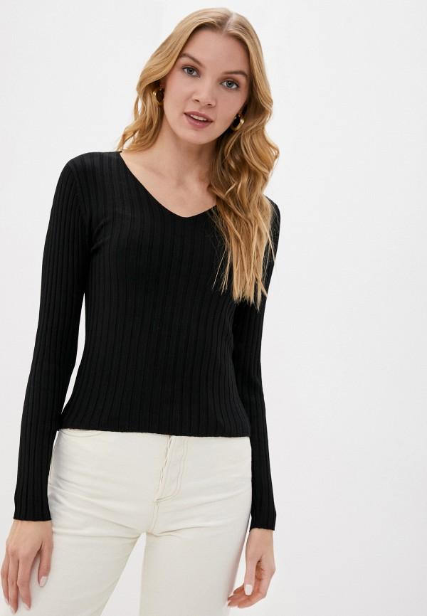 женский пуловер jacqueline de yong, черный