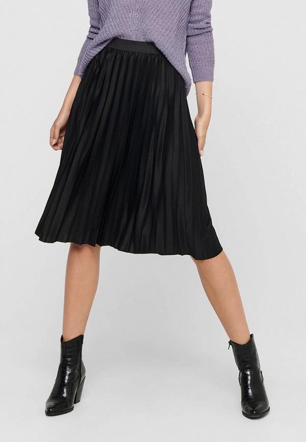 женская юбка jacqueline de yong, черная