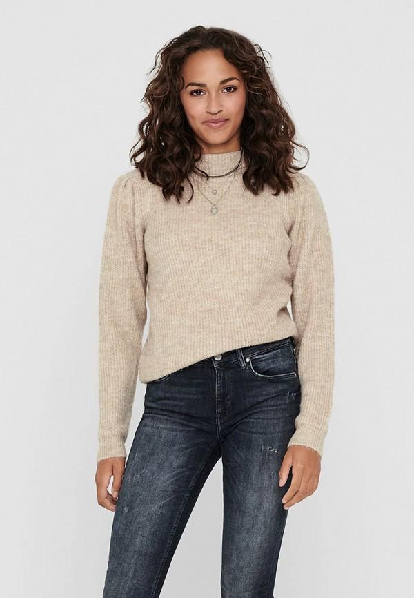 женский свитер jacqueline de yong, бежевый
