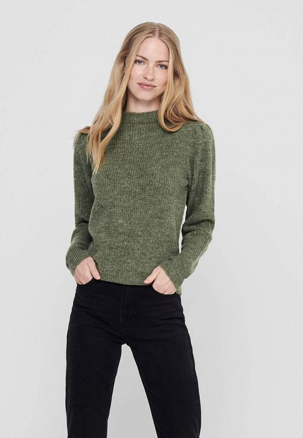 женский свитер jacqueline de yong, зеленый
