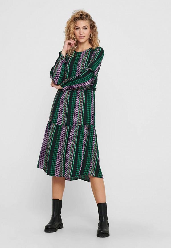 женское повседневные платье jacqueline de yong, черное