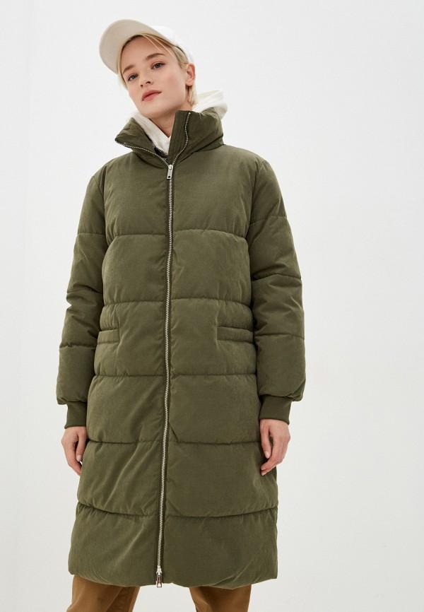 женская куртка jacqueline de yong, хаки