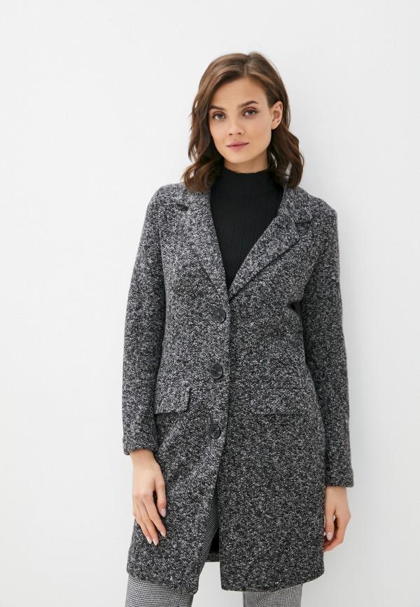 женское пальто jacqueline de yong, серое