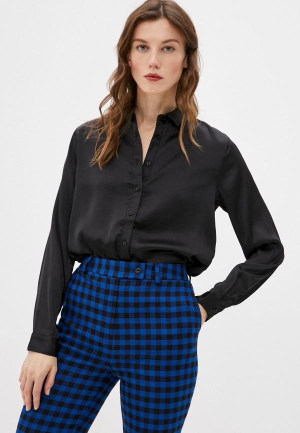 женская блузка jacqueline de yong, черная