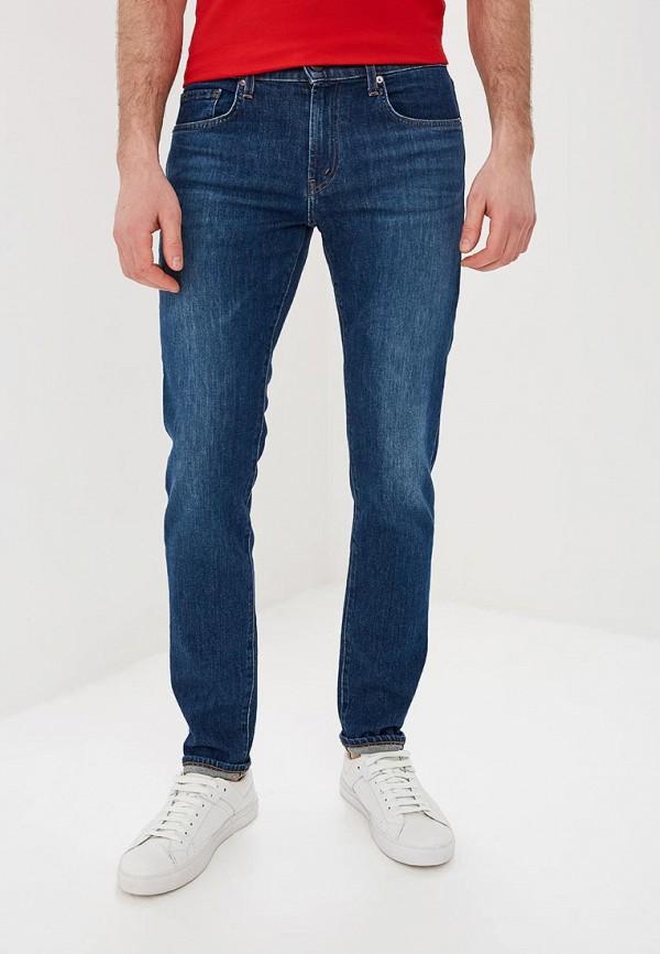 мужские зауженные джинсы j brand, синие