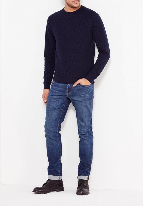 Фото 2 - мужские джинсы J Brand синего цвета