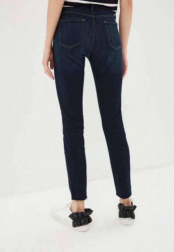 Фото 3 - женские джинсы J Brand синего цвета