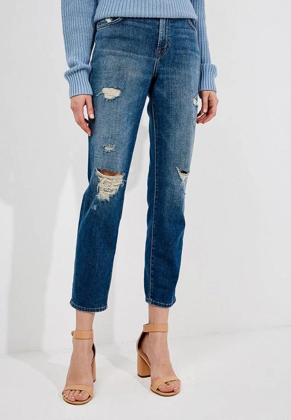 женские прямые джинсы j brand, синие