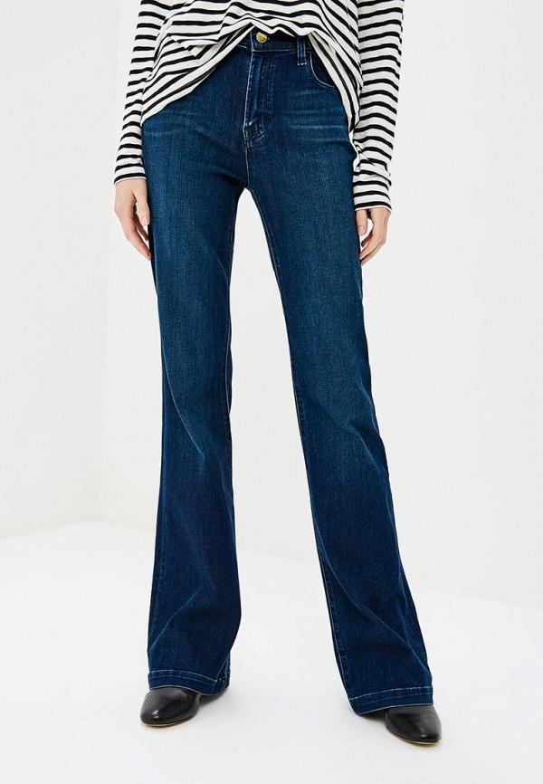 женские джинсы клеш j brand, синие