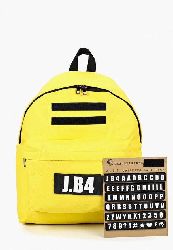 Купить Рюкзак J.B4, jb003budbjx4, желтый, Осень-зима 2018/2019
