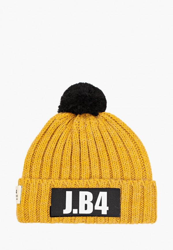 мужская шапка j.b4, желтая