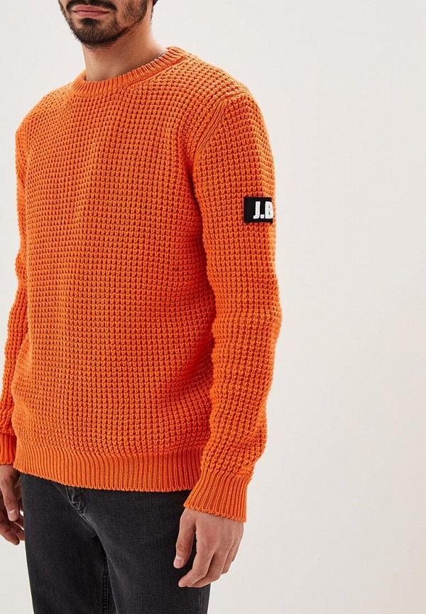 Джемпер  оранжевый цвета