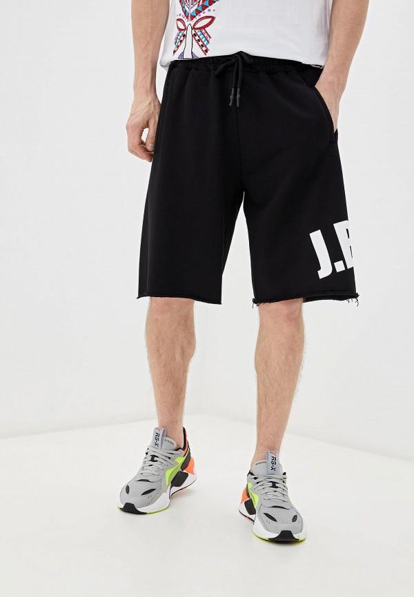 мужские повседневные шорты j.b4, черные