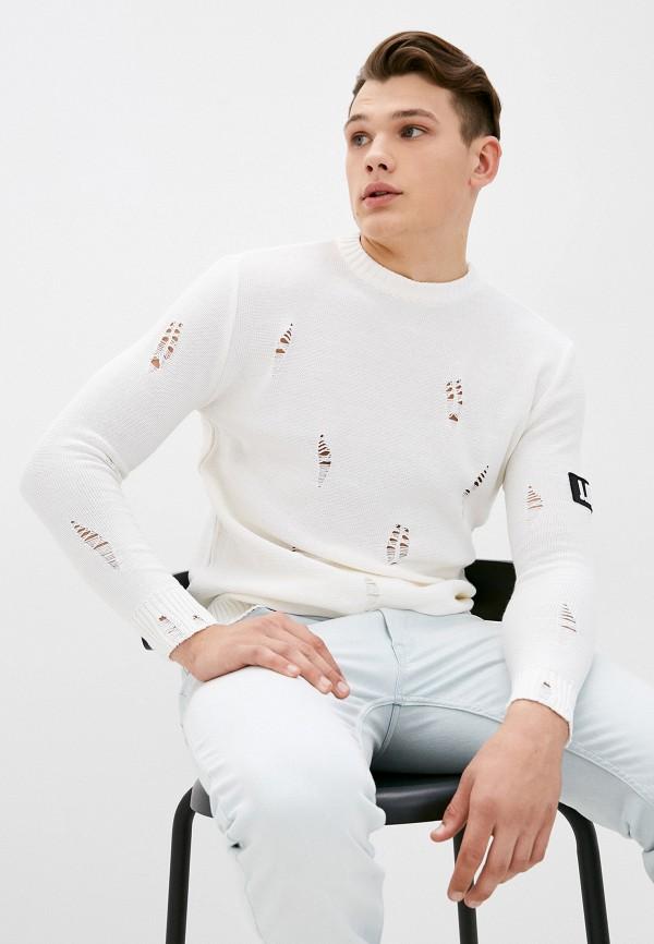 мужской джемпер j.b4, белый
