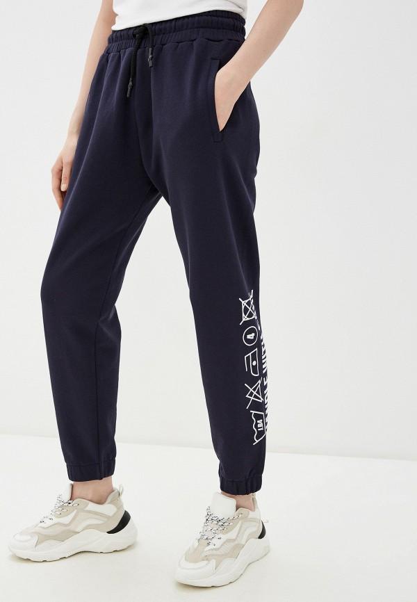 женские спортивные брюки j.b4, синие