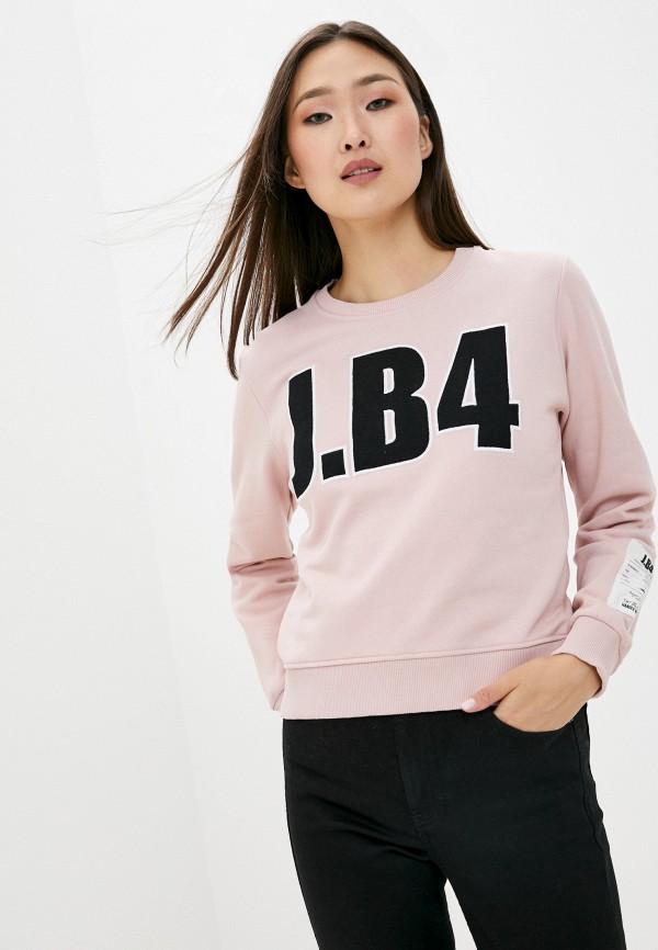 женский свитшот j.b4, розовый