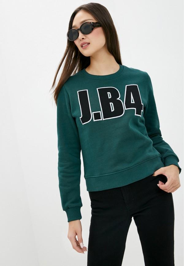 женский свитшот j.b4, зеленый
