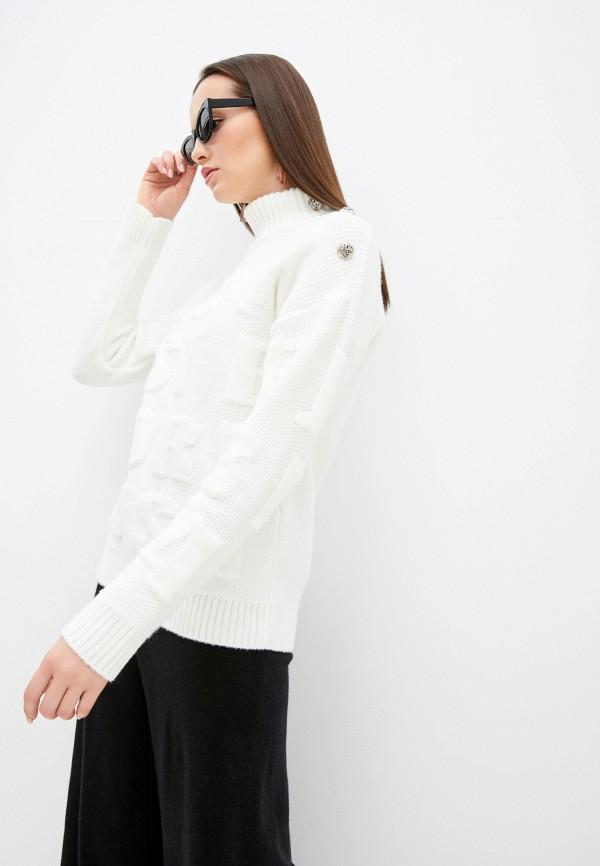 женский свитер j.b4, белый