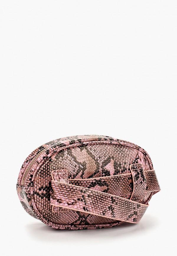 Фото 2 - Сумку поясная Jennyfer розового цвета