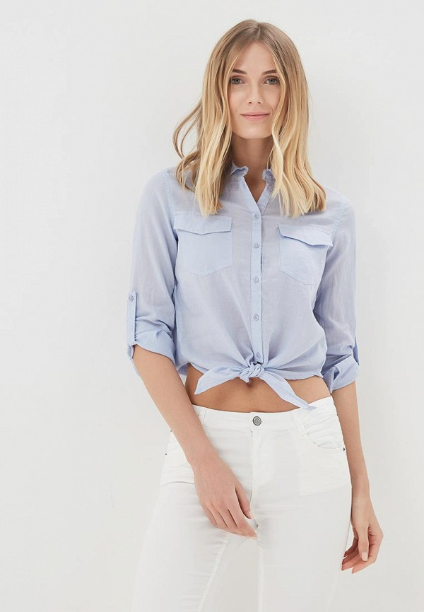 Купить Рубашка Jennyfer, JE008EWASPM8, голубой, Весна-лето 2018