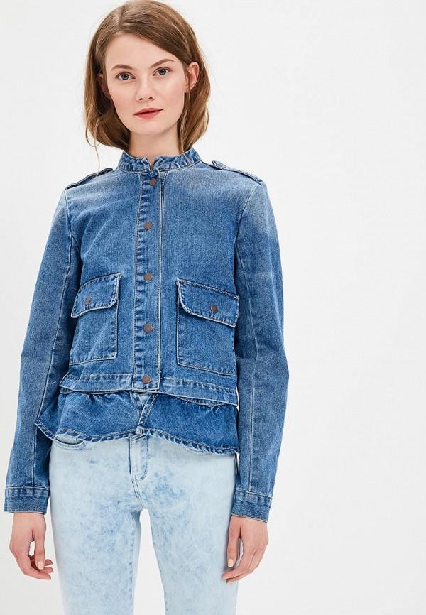 Купить Куртка джинсовая Jennyfer, je008ewbitx4, синий, Весна-лето 2018