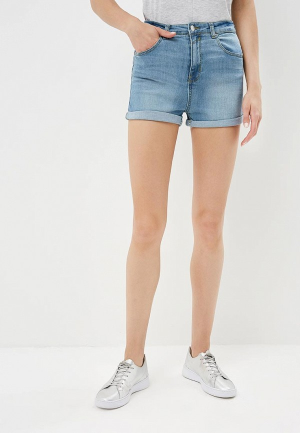 женские джинсовые шорты jennyfer, голубые