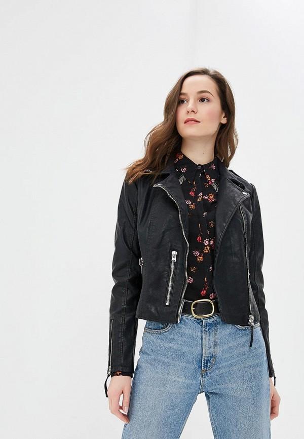 женская куртка jennyfer, черная