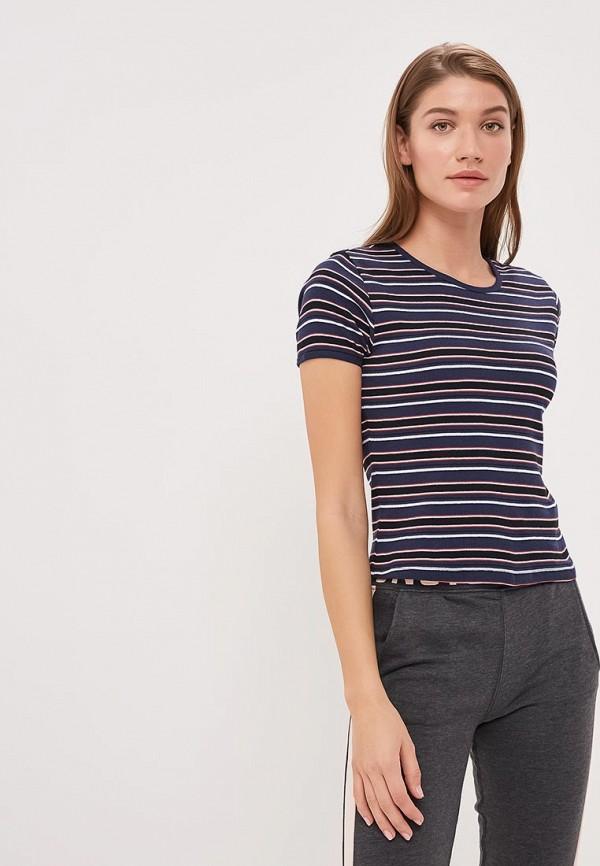 женская футболка jennyfer, синяя