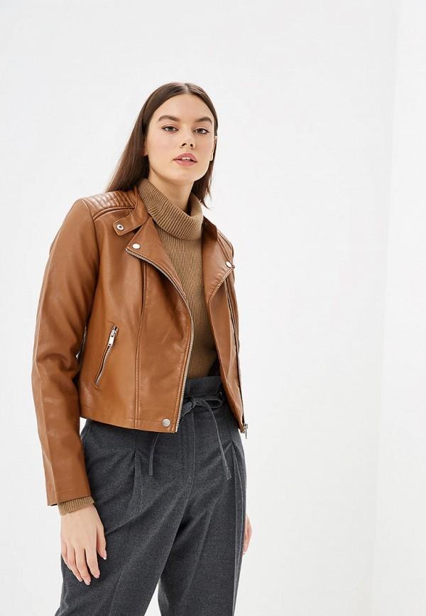женская куртка jennyfer, коричневая