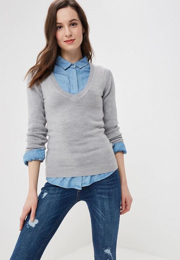 женский пуловер jennyfer, серый