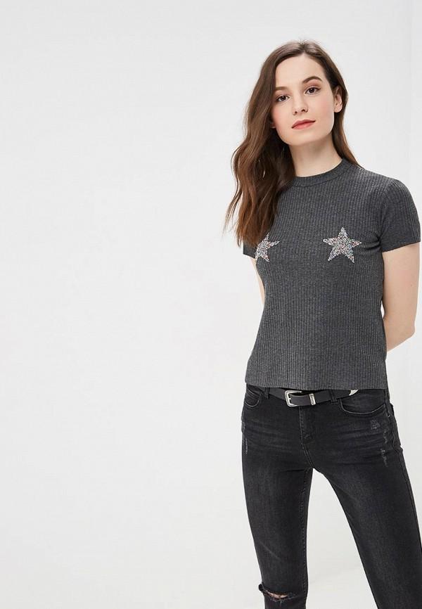 женская футболка jennyfer, серая