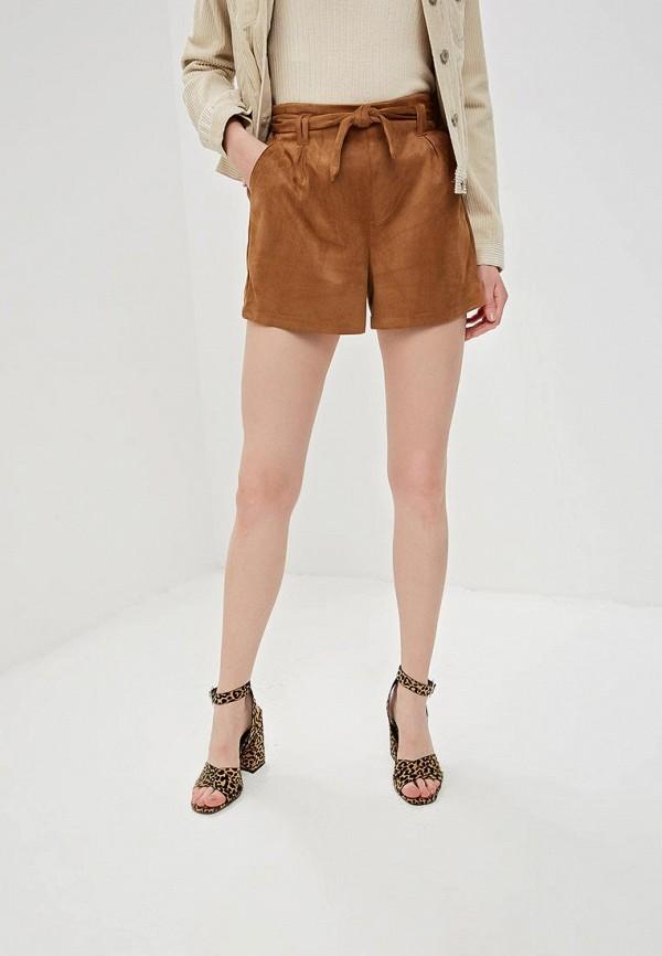женские повседневные шорты jennyfer, коричневые