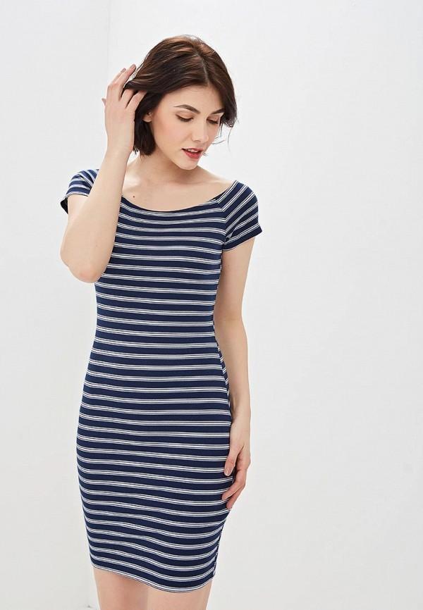 женское повседневные платье jennyfer, синее