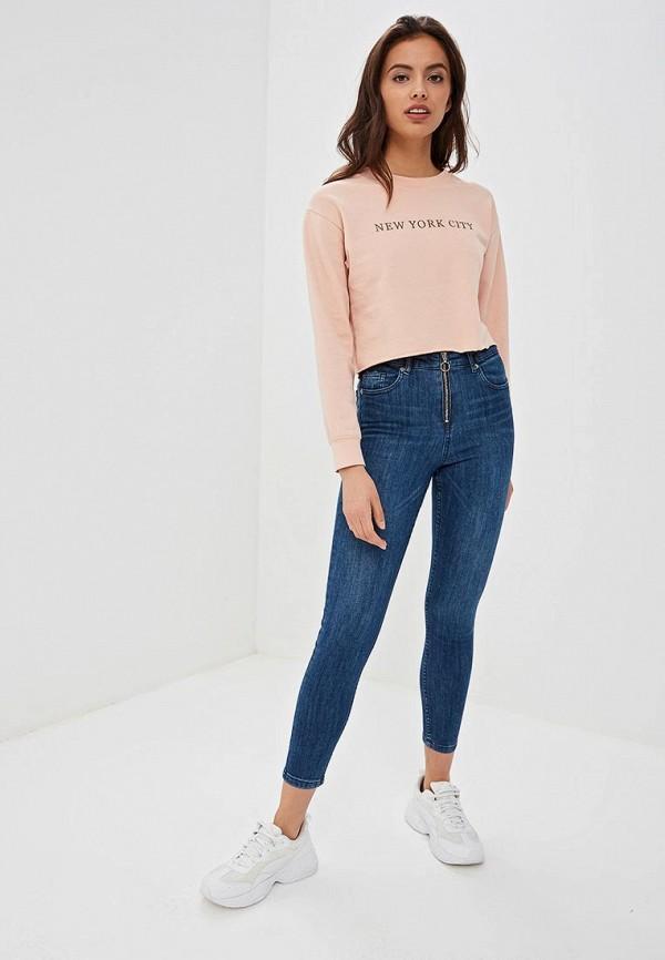 Фото 2 - Женские джинсы Jennyfer синего цвета