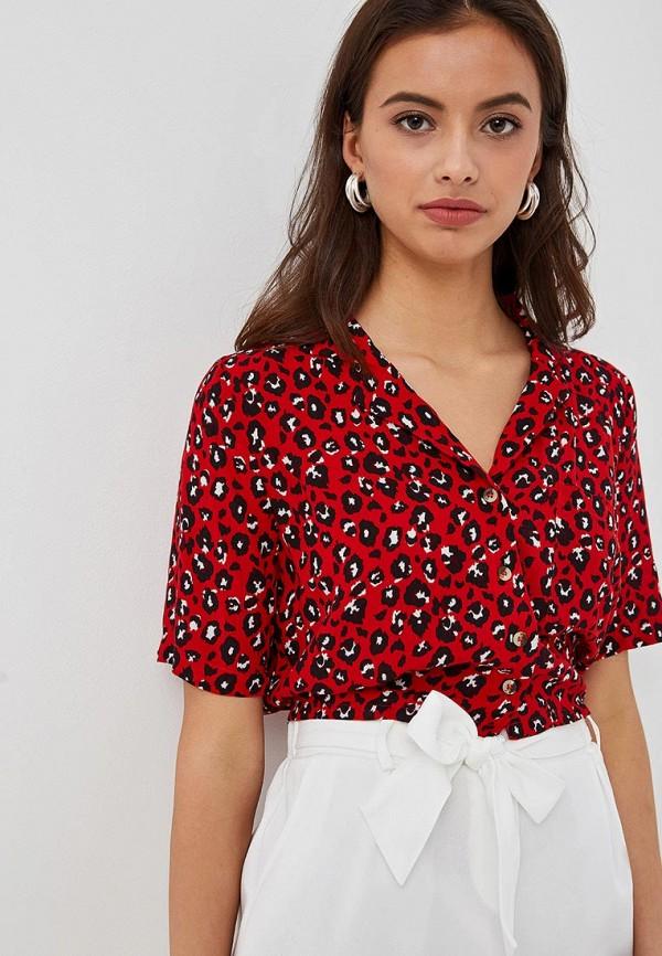 женская блузка jennyfer, красная