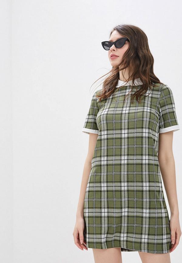 женское повседневные платье jennyfer, зеленое