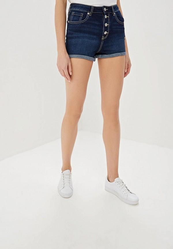 женские джинсовые шорты jennyfer, синие