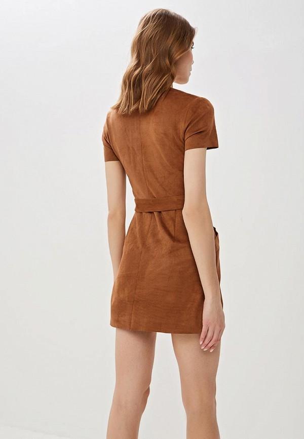 Фото 3 - Женское платье Jennyfer коричневого цвета