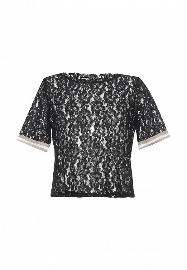 Купить Блуза Jennyfer, je008ewril31, черный, Весна-лето 2017