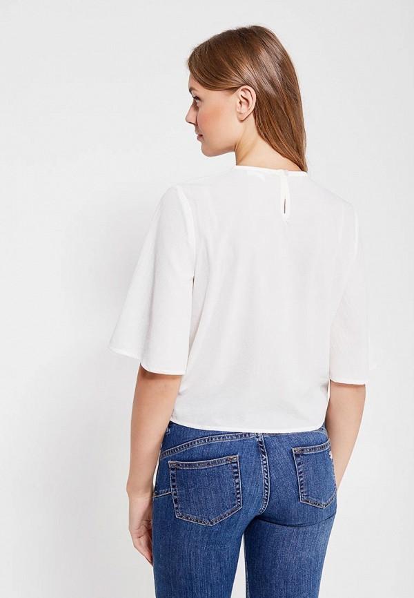 Фото 3 - женскую блузку Jennyfer белого цвета