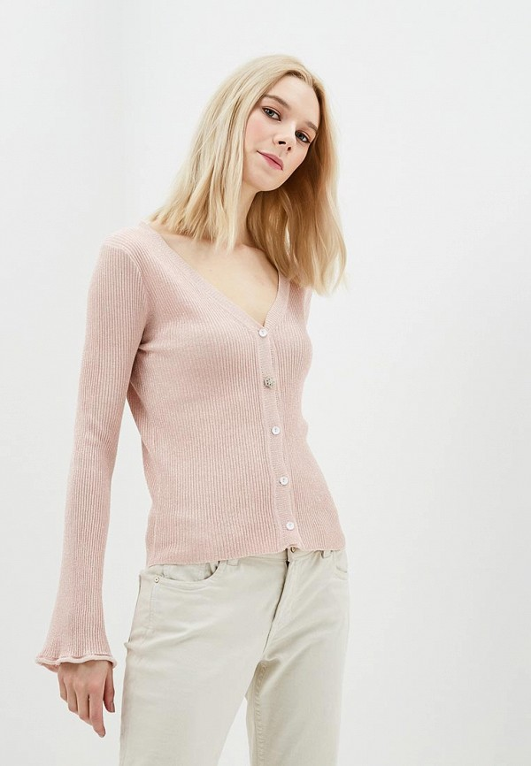 Купить Кардиган Jean Louis Francois, je017ewauso9, розовый, Весна-лето 2018