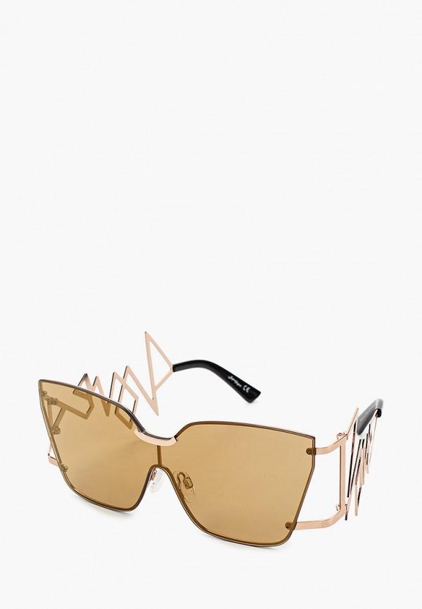 женские солнцезащитные очки jeepers peepers, золотые