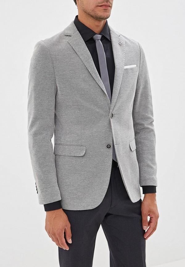 мужской пиджак j. hart & bros, серый