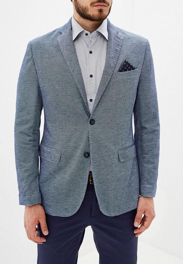 мужской пиджак j. hart & bros, голубой
