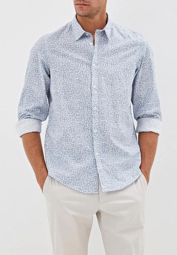 мужская рубашка с длинным рукавом j. hart & bros, голубая