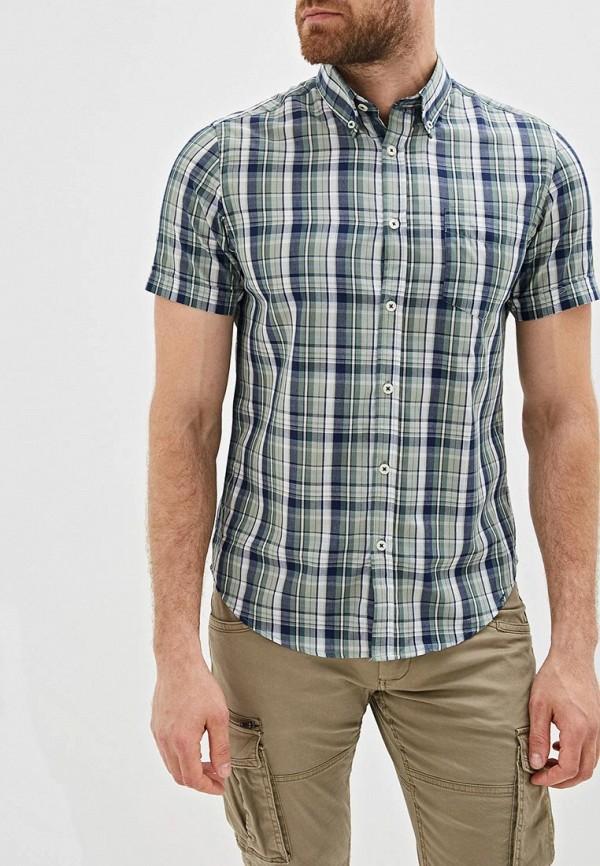 мужская рубашка с коротким рукавом j. hart & bros, зеленая