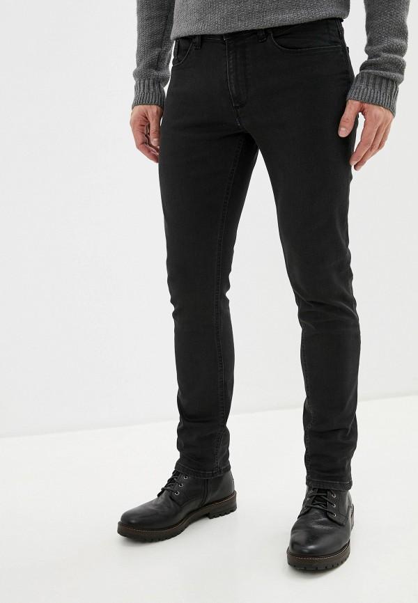 мужские зауженные джинсы j. hart & bros, черные